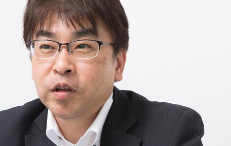 システムソリューション部 部長 井川智仁